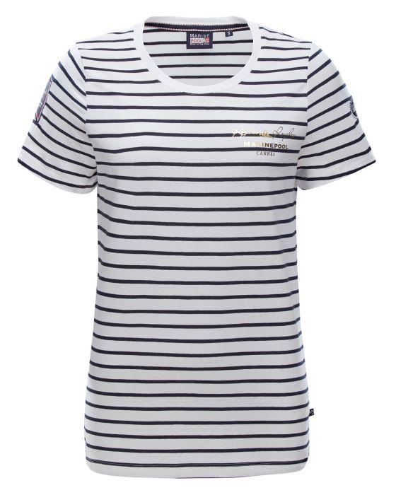 RR Agnes gestreiftes T-Shirt Damen