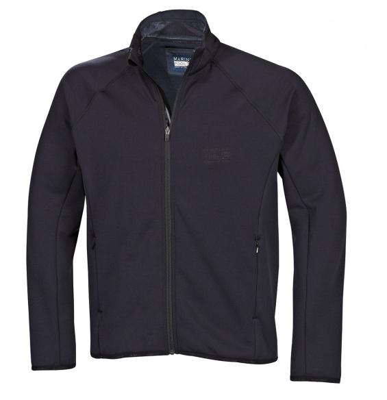 B3 Midlayer Fleece Jacke Brust Logo Herren