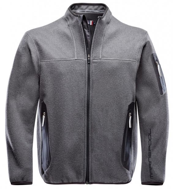 Tech Wool Fleece Jacke Herren