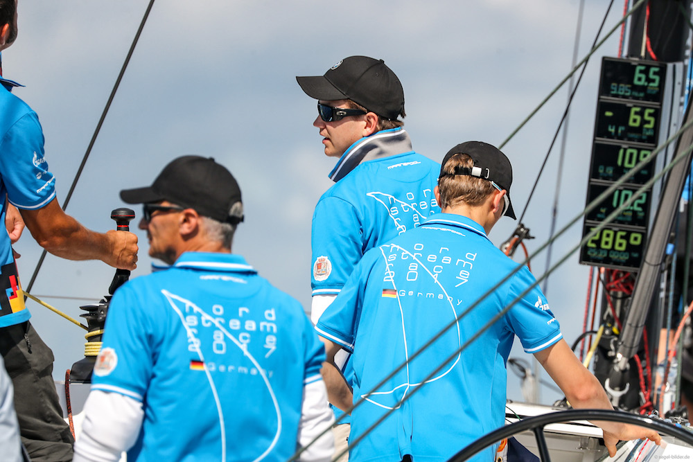 Team Germany wins Nord Stream Race's opening leg into Kopenhagen