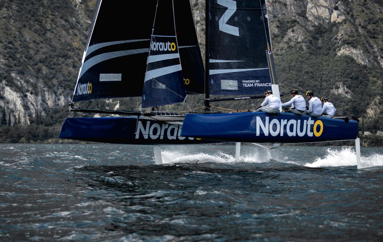 GC32 - Marinepool PopUp Store und Norauto mit Franck Cammas im Rennen um einen zweiten Sieg bei der GC32 Racing Tour in Toulon