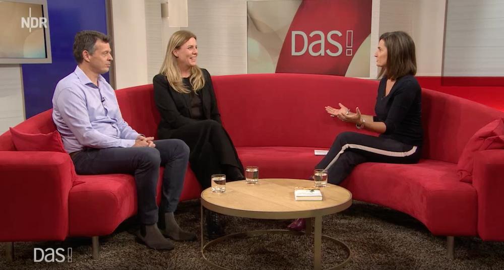 DAS! Rote Sofa mit  Petra Thaller mit OaC und Dr. Thorsten Schulz