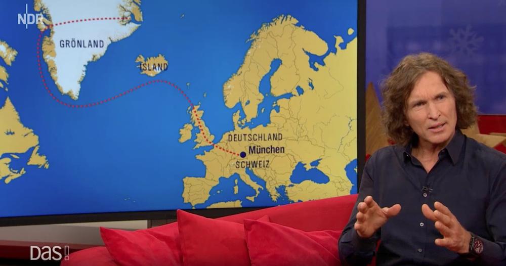 DAS! Rote Sofa - Extremkletterer Stefan Glowacz mit Coast to Coast zu Gast bei Hinnerk Baumgarten im NDR