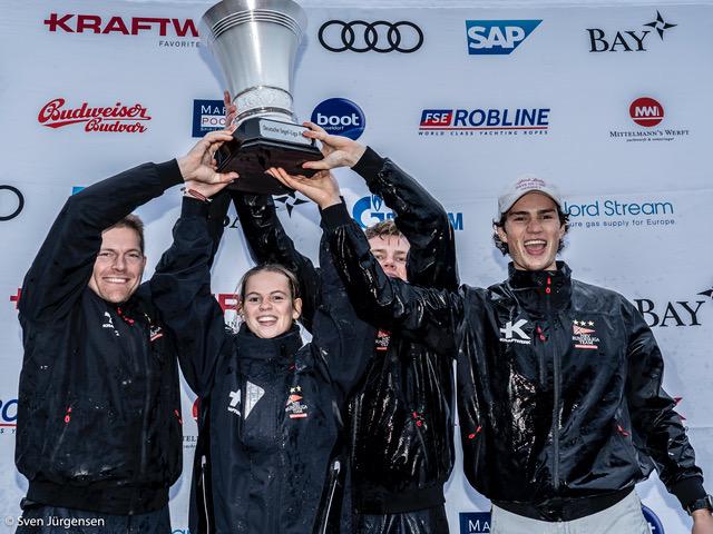 NRV Segel Bundesliga Team gewinnt den Deutschen Segel Liga Pokal