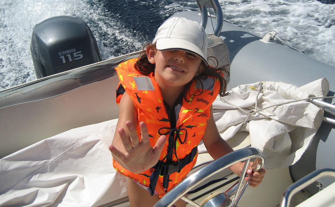 Marinepool Rettungswesten Kinder