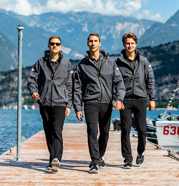 Marinepool crew wear on the water